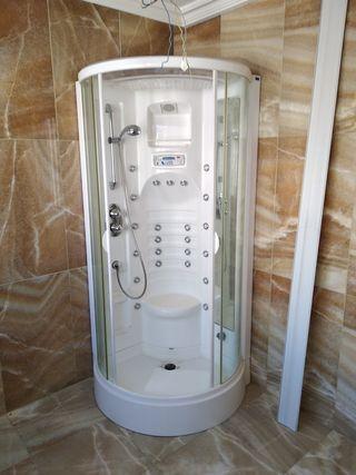 cabina de ducha e hidromasaje