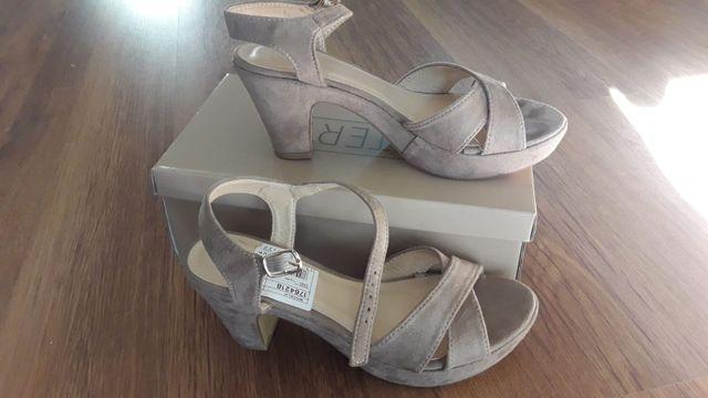 Zapatos sandalias tacon