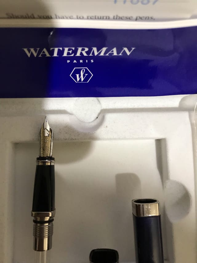 Estilográfica coleccionable WATERMAN