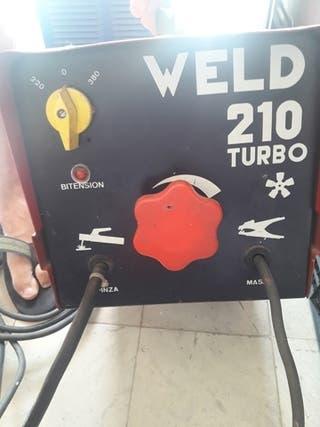 soldador weld 210 turbo
