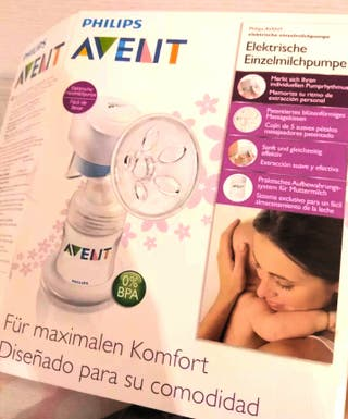 Extractor de leche materna electrico Philips Avent