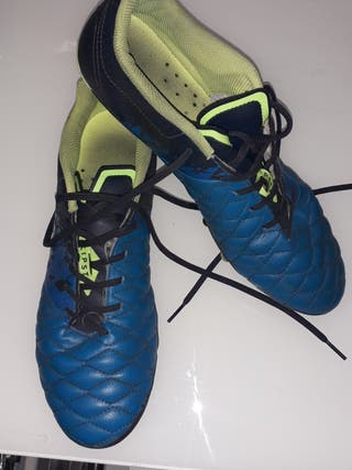 Botas de fútbol Kipsta talla 43