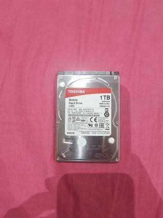 Disco duro 2,5 Toshiba 1TB