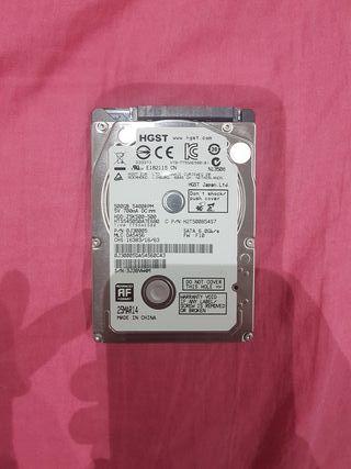 Disco duro 2,5 500gb HGST