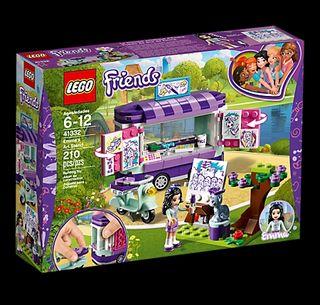 Lego Friends - Puesto de arte de Emma