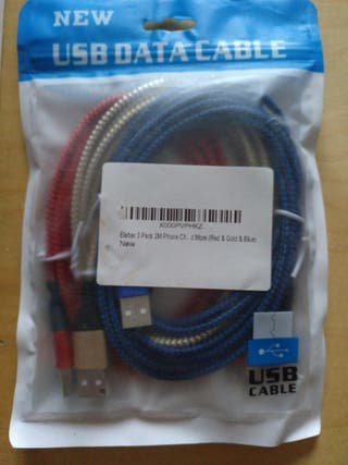 cables de carga iphone