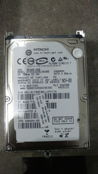 "Disco duro Sata 2.5"" 250gb"
