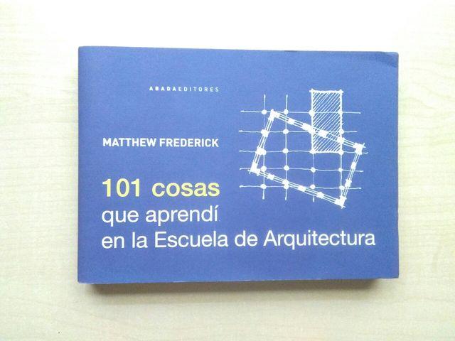 Libro Matthew Frederick. 101 cosas que aprendí en