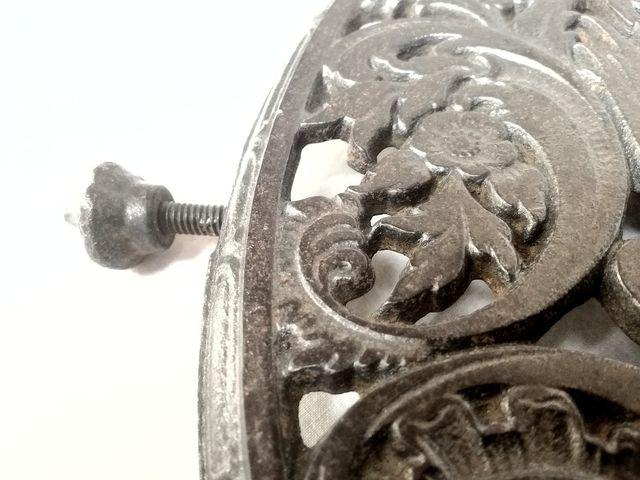 Rejilla holandesa de hierro
