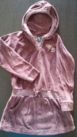 Vestido sudadera Zara