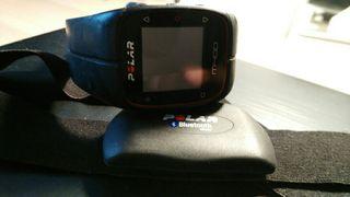 Pulsometro m400 con sensor cardiaca h7 color negro