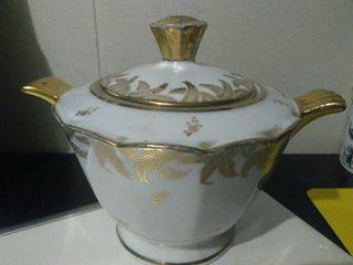 Azucarero porcelana francesa