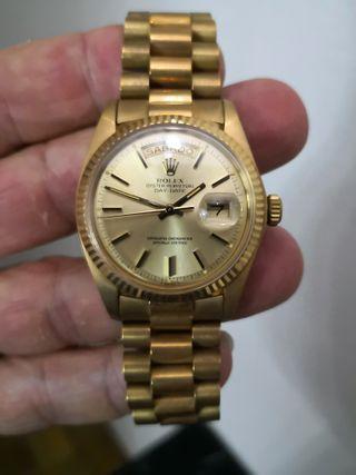 efea4a9f6a2 Reloj de oro Rolex de segunda mano en WALLAPOP