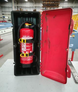 Extintor + cajón