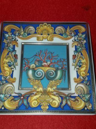 plato Versace lujo les tresors de la mer