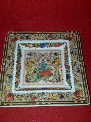 plato Versace rosenthal el jardín de venus