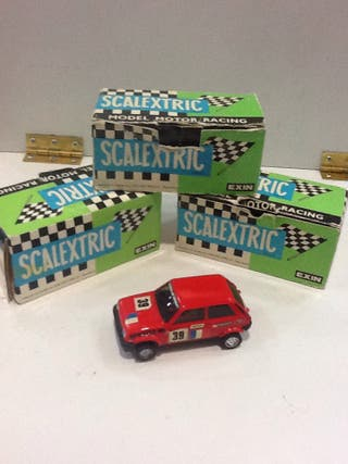 SCALEXTRIC COCHES VINTAGE ANTIGUOS