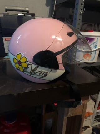 casco mujer