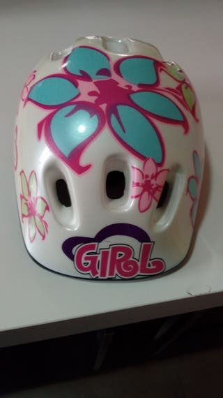 Patinete niña + casco