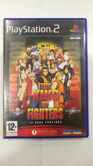 Juego the king of fighters ps2