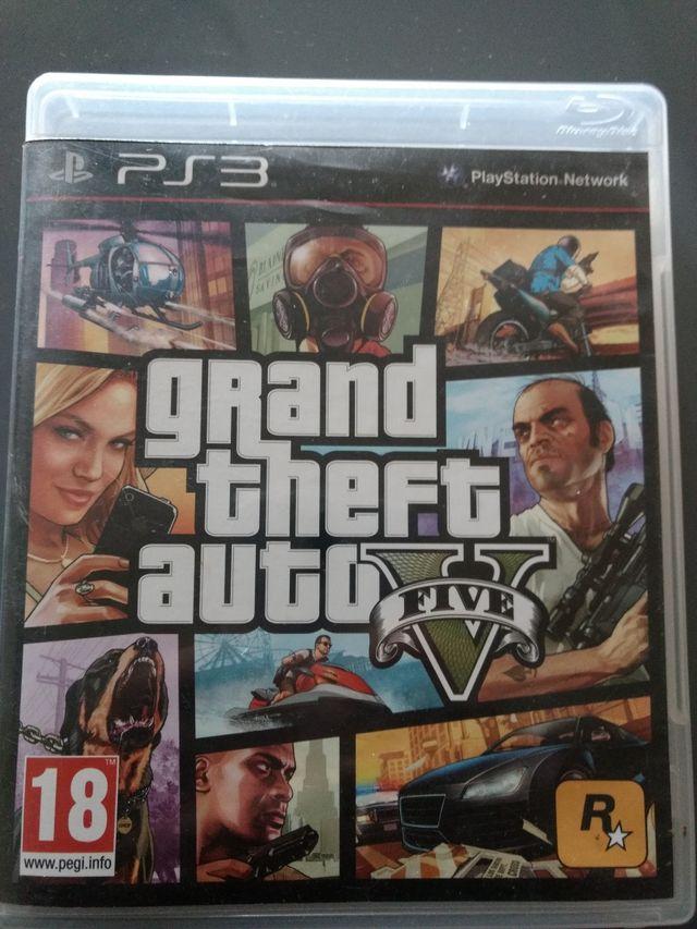 Juego Ps3 Grand Theft Auto V Gta V De Segunda Mano Por 8 En Elda