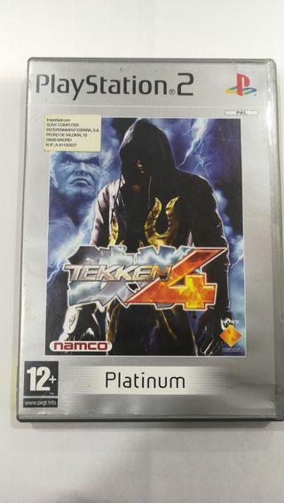 Juego Tekken 4 ps2