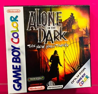 JUEGO GAMEBOY COLOR ALONE IN THE DARK COMPLETO ESP