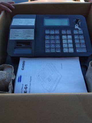 Caja registradora CASIO SE-G1 color negro ..