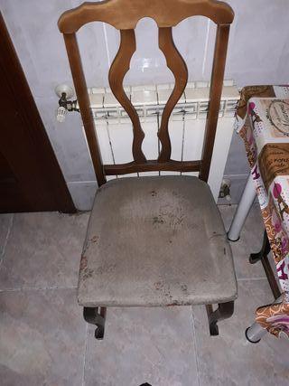 4 silla por 50e