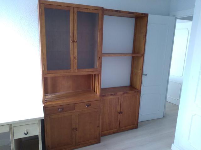 Mesa de despacho madera blanca