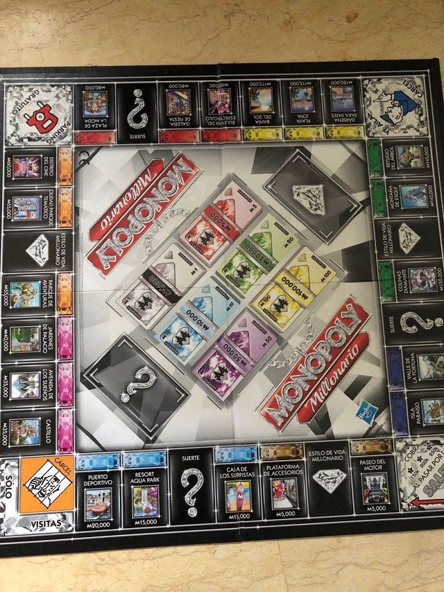 Juego De Mesa Monopoly Millonario De Segunda Mano Por 10 En