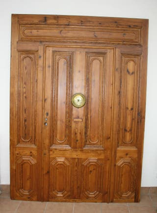 Puerta port n cl sico de entrada de segunda mano por 900 en canet de mar en wallapop - Puertas de entrada de segunda mano ...