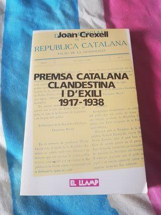 Prensa catalana clandestina y de exilio