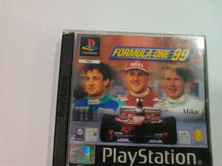 JUEGO FORMULA ONE 99 (PS1)