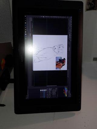 Pantalla tableta digital wacom cintiq 22HD