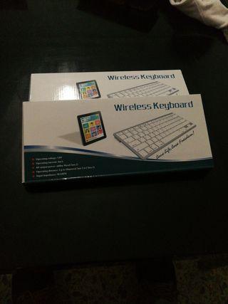 Teclado Bluetooth para móvil, tablet, etc..
