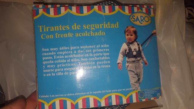 712b2c7a6 Tirante de seguridad para niños de segunda mano por 5 € en Centro ...