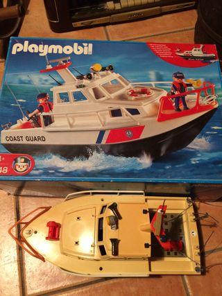 Playmobil Coast Guard 4448. Incompleto