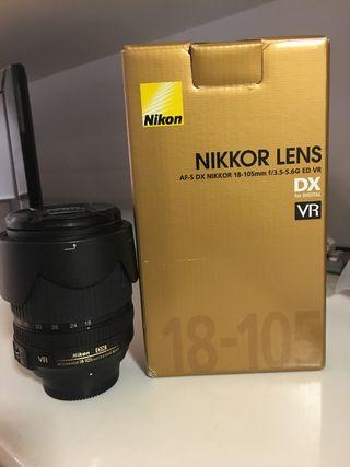 AF-S DX Zoom Nikkor 18-105mm f3.5-5.6 G ED VR