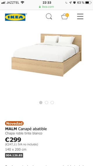 Canape Ikea De Segunda Mano En Wallapop