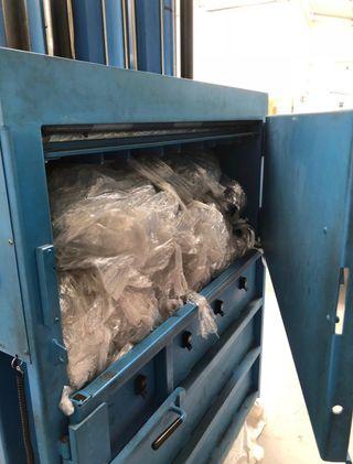 Prensa Compactadora Papel y Plastico Industrial