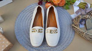 VOLTAN zapato mocasin italiano lujo TALLA 38