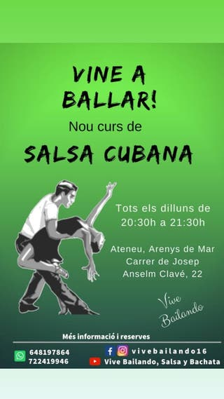 clases salsa y bachata