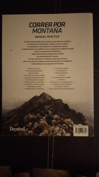 libro corredor de montaña
