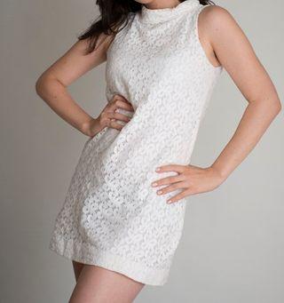 Vestido blanco Zara de segunda mano por 20 € en La Cuesta en