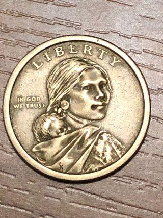 Dólar nativo americano 1621