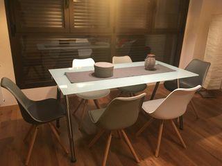Mesa comedor de segunda mano por 80 en coslada en wallapop - Wallapop mesa comedor ...
