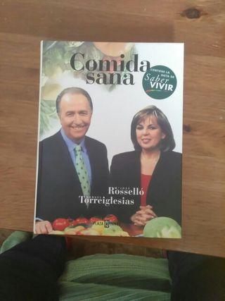 Libro de comida sana de Manuel Torreiglesias