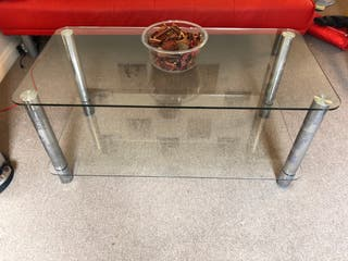 Glass Coffe Table