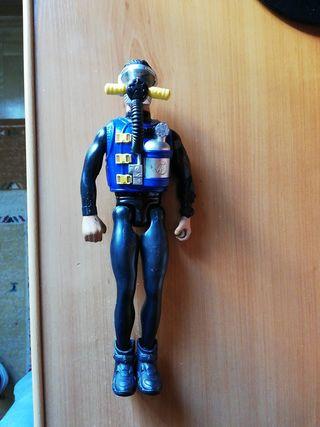 "Muñeco submarinista ""Action Man"""